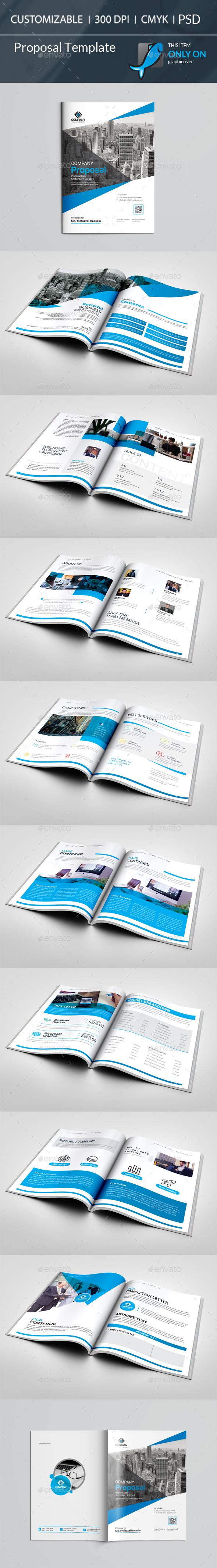 Proposal - Stationery Print Templates