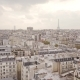 Flying Above Roofs of Paris - VideoHive Item for Sale