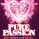 Valentine Passion Flyer - GraphicRiver Item for Sale