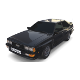 1981 Audi Coupe Quattro Black - 3DOcean Item for Sale