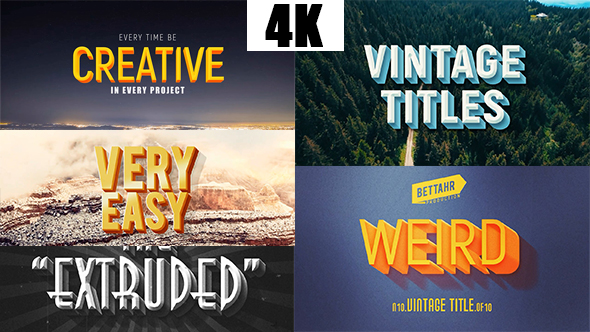 Videohive Titles & Lower Thirds 21324355 - Free download