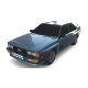 1981 Audi Coupe Quattro Dark Blue - 3DOcean Item for Sale