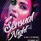 Sensual Night Party Flyer - GraphicRiver Item for Sale