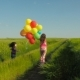 Child with Balloons. - VideoHive Item for Sale