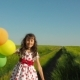 Child with Balloons - VideoHive Item for Sale