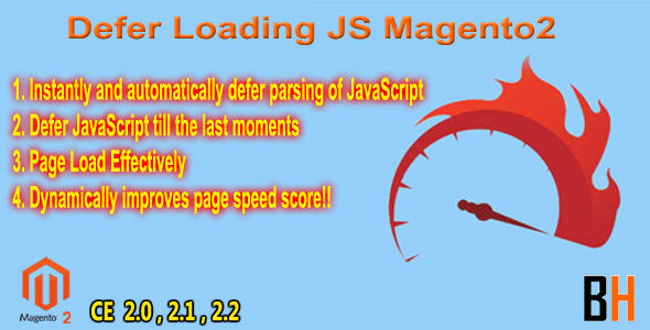 Defer Loading JS Extension Magento2 - CodeCanyon Item for Sale