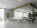Interior of reception and meeting room 3D illustration - PhotoDune Item for Sale