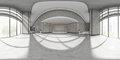 Spherical 360 panorama projection Interior of reception 3D illustration - PhotoDune Item for Sale