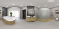 Spherical 360 panorama projection Interior of the modern bathroom 3D rendering - PhotoDune Item for Sale