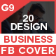 Facebook Cover Bundle - 20 Design 2 - GraphicRiver Item for Sale
