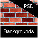 Brick Backgrounds Pack - PSD & PNG - GraphicRiver Item for Sale