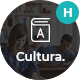Cultura - Education HTML Template - ThemeForest Item for Sale