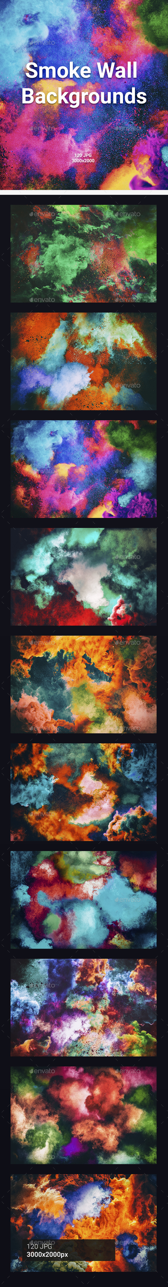 120 Smoke Wall Backgrounds - Abstract Backgrounds