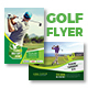Golf Tournament Flyers Bundle