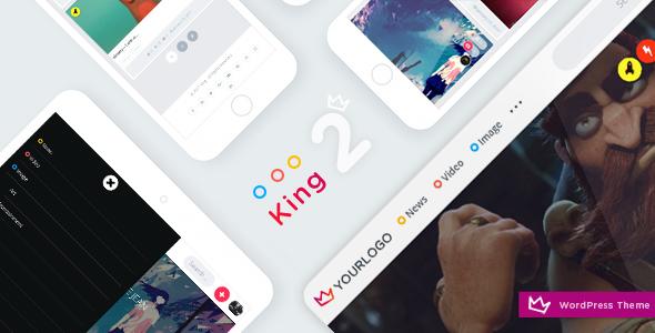 King - WordPress Viral Theme