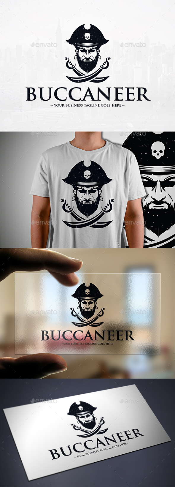 Pirates Logo Template - Humans Logo Templates