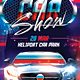 Car Show Flyer - Street - GraphicRiver Item for Sale