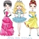 Fashion Girl Princesses - GraphicRiver Item for Sale