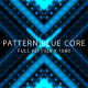 Pattern Blue Core VJ Loops Background - VideoHive Item for Sale