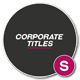 Corporate Modern Titles - VideoHive Item for Sale