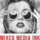 Mixed Media Ink Art Photoshop Action - GraphicRiver Item for Sale