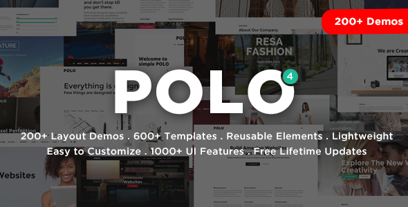 Polo - Responsive Multi-Purpose HTML5 Template - Corporate Site Templates