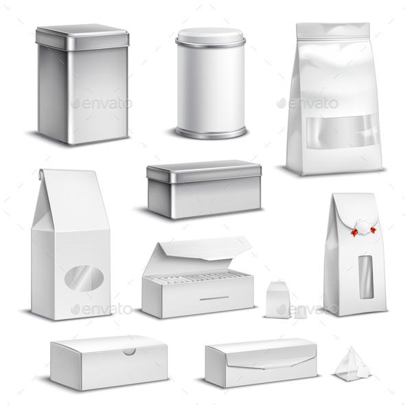 Tea Packaging Set - Business Conceptual