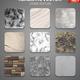 Stone Texture Samples Realistic Set