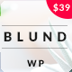 Blund Minimal Portfolio WordPress Theme - ThemeForest Item for Sale