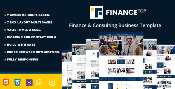 Consulting Finance Business - Finance Top