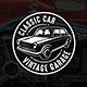 Classic Car Vintage Logo & Badge - GraphicRiver Item for Sale