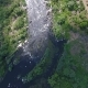 Flying Over River Stream - VideoHive Item for Sale