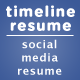 Facebook Timeline Resume - GraphicRiver Item for Sale