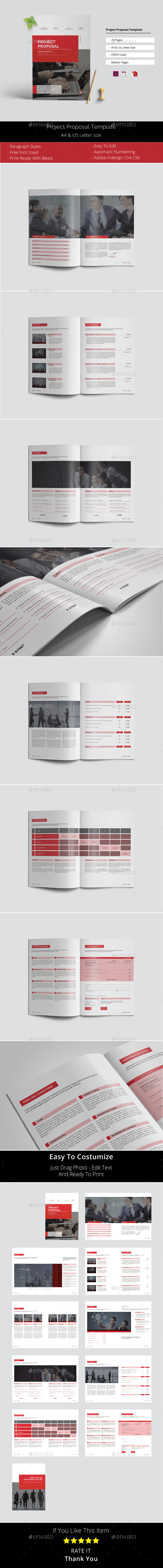 Project Proposal Template Vol. 2 - Proposals & Invoices Stationery