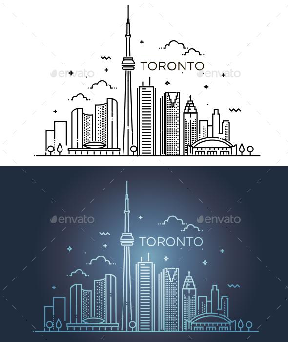 Linear Toronto - Buildings Objects