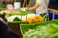 Noodles And Veggies Displayed In Food Market - PhotoDune Item for Sale