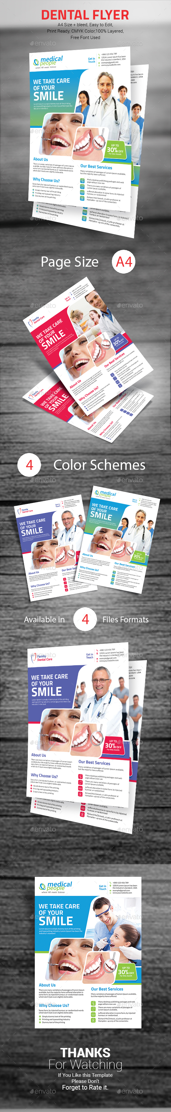 Dental Flyer - Corporate Flyers