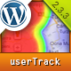 userTrack - Wordpress Analytics with Mouse Heatmaps and Full Visitor Recording