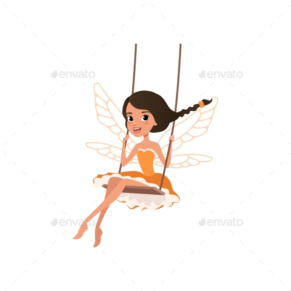 Fairy with Magic Wings - People Characters