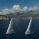 Aero Shooting of Two Yachts in the Open Sea - VideoHive Item for Sale