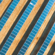 Lowering Down Above Solar Panels - VideoHive Item for Sale
