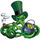 Octopus the Suspicious Leprechaun - GraphicRiver Item for Sale