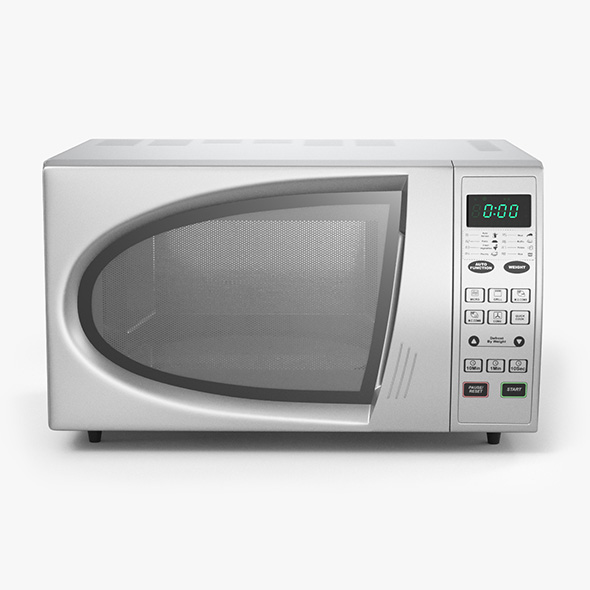 Microwave Oven - 3DOcean Item for Sale