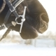 Breathing of Black Horse in Winter - VideoHive Item for Sale