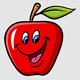 Apple Cartoon Expression - GraphicRiver Item for Sale