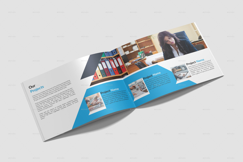 landscape brochure template by big art graphicriver