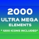 Ultra Mega Bundle (2000 Elements) - GraphicRiver Item for Sale