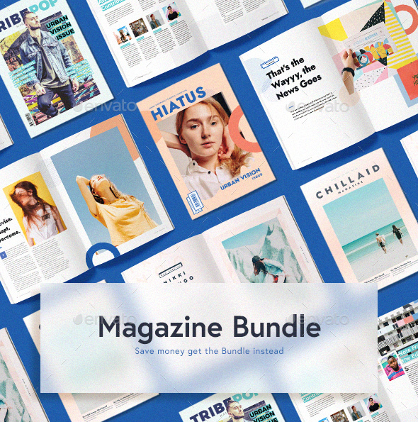 Magazine Bundle - Magazines Print Templates