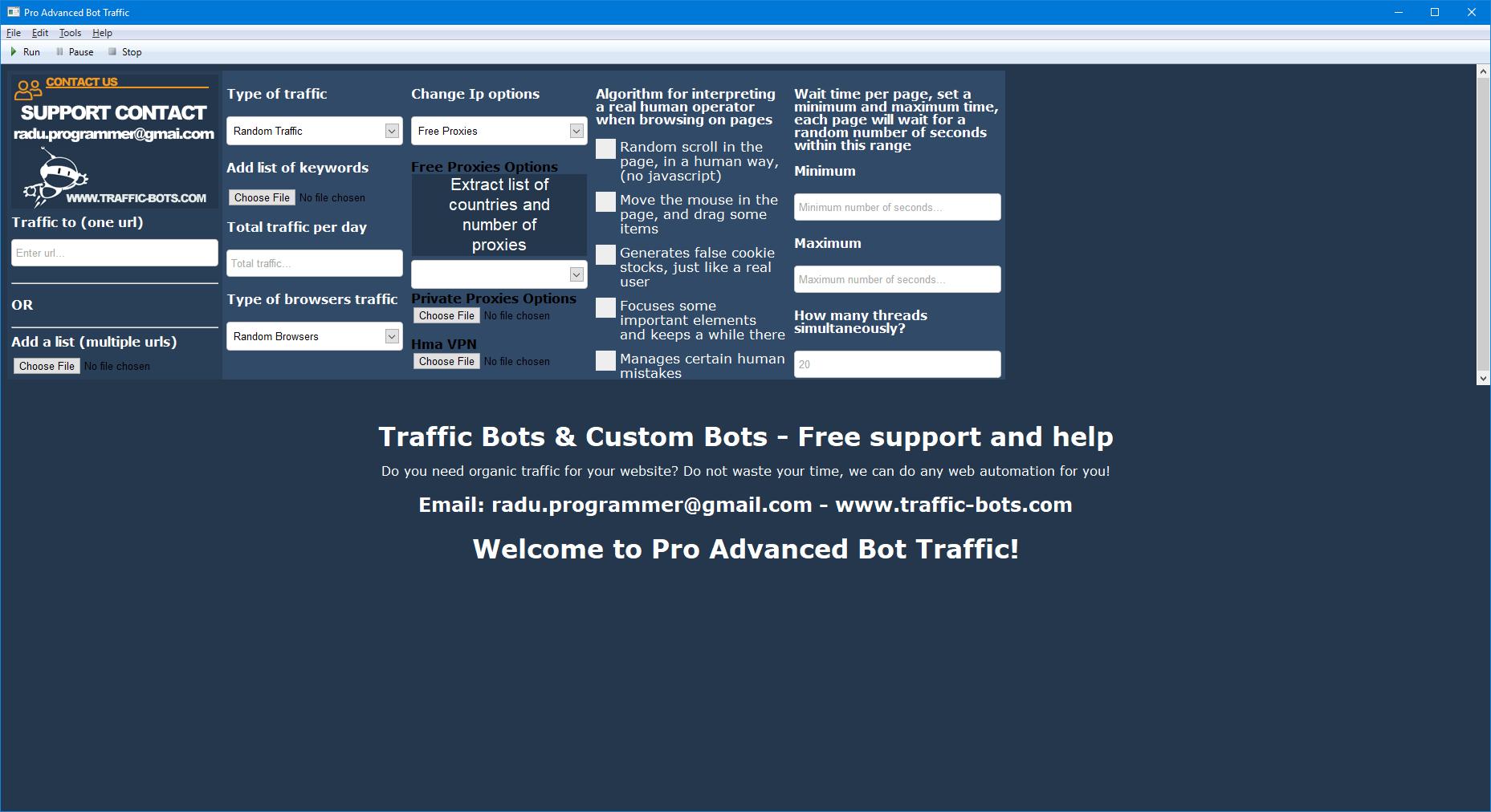Pro Advanced Bot Traffic