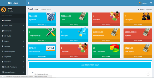 Advance Loan Management System with Savings System and SMS Notification - CodeCanyon Item for Sale